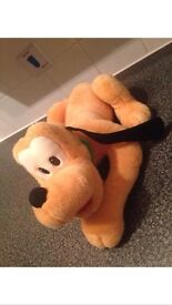 LARGE official Disney Pluto soft toy