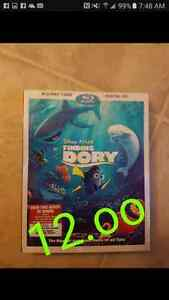Finding dory Disney blue ray 12.oo