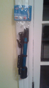 Bike/Motorcycle/Ball pump metal 12 inches. Brand new.