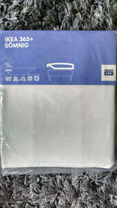 NEW SOMNING IKEA TWIN FITTED SHEET