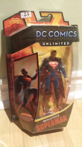 "DC Comics Unlimited Injustice SUPERMAN 6"" figure brand new!"