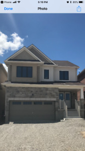 ***BRAND NEW 4 BEDROOM, 2 CAR GARAGE FOR RENT IN CALEDONIA***