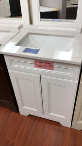"Small bathroom 24"" vanities on floor SALE!!!"