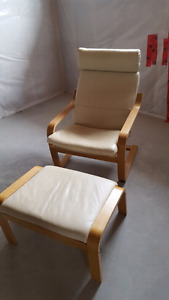 Lounger & Stool set. Good condition.