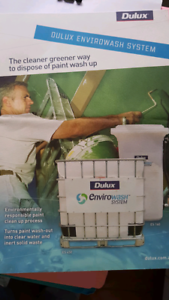Dulux enviro wash system - sink only (for wheely bin) painters