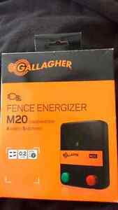 Gallagher fence energizer M20 NEW--price just reduced! Peterborough Peterborough Area image 1