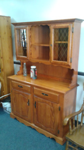 Maple Hutch & Buffet Delivery Is Available