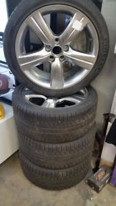 Pirrelli tires and Lexus rims for sale or trade