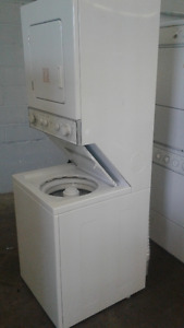 Whirlpool Stackable Heavy Duty White Washer & Dryer