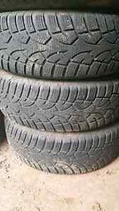 "4  16"" winter tires on rims"