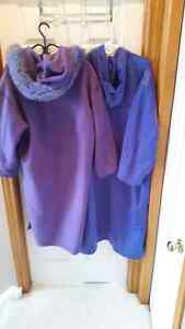 Purple Linda Lundstrom Coat Cambridge Kitchener Area image 4