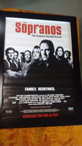 THE SOPRANOS 2ND SEASON OFFICIAL STUDIO POSTER