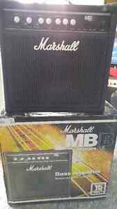 NEW MARSHALL MB-15 BASS AMPLIFIERS (2 available)