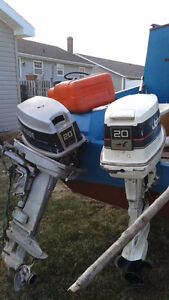 Two Outboard motors for sale