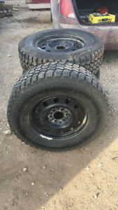 Nitto HD Grappler LT275/70 R18 tires on rims(Set of 4)