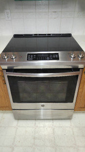 GE Electric Self-Cleaning Range - Stainless Steel