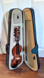 Beginners Fiddle And Case