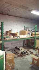 Heavy duty industrial strength shelving - Great Shape