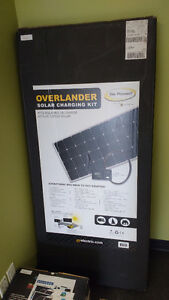 Assorted RV solar components