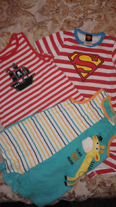 18- 24 month baby boy summer clothes lot