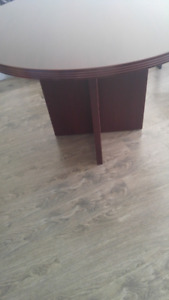 Reduced.   Cherrywood round table