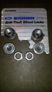Locking Wheel Nuts.  Ford F150 2014 or earlier. For covered nuts