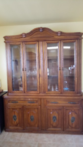 Dining Room Cabinet and Hutch - Reduced price!