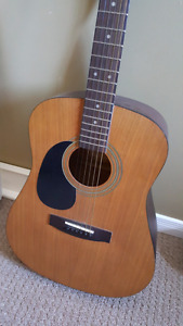 Samick Acoustic Guitar - Lefthanded