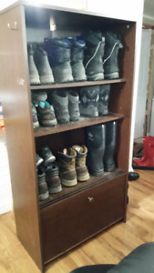 PRICE DROP Boot and shoe cabinet