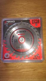ABRACS TCT216/28 SAW BLADE 216MM X 30MM X 28T