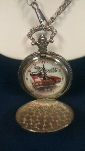 Chevrolet Pocket Watch with the 1970 Chevelle picture inside