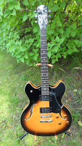 Washburn Delta King Electric Blues Guitar $350
