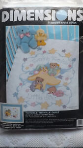 Dimensions BABY QUILT Cross Stitch Kit