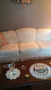 Couch and antique chair Sarnia Sarnia Area image 1