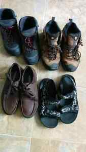 Man shoes, four pairs
