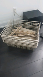 Ikea PAX wire shelf/basket