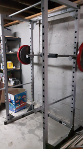 BodySolid Training Equipment -Squat cage-Back Hyperextension-ABS