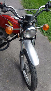 1974 Honda XL 100 in excellent shape (collector's item) Kitchener / Waterloo Kitchener Area image 2