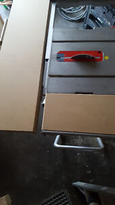 """Bosch 10""""Tablesaw with stand; Milwaukee 12""""Mitresaw with stand Edmonton Edmonton Area image 8"""