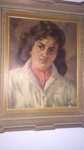 Tableau peint Par Léo Ayotte