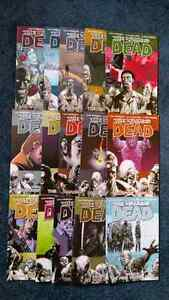 The Walking Dead Vol. 1-15 paperback graphic novel comics