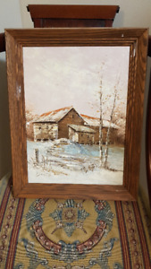 Collection of Original Oil Paintings various artists