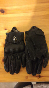 Perforated Motorcycle Gloves