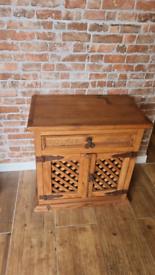 Rustic side unit cupboard