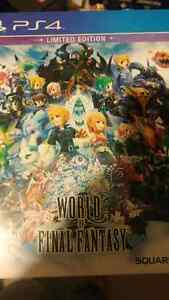 World of final fantasy limeted edition London Ontario image 1