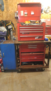 Tool Chest With Complete Sets Of Sockets
