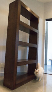 Huge rustic, trendy modern bookcase bookshelf! OVER  50% OFF!!