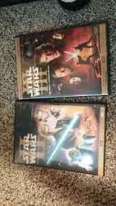 Star wars 2 and 3 DvD