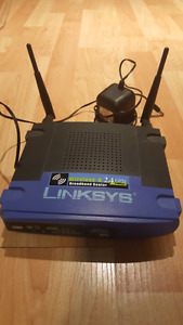Linksys Wireless-G 2.4GHz router for sale