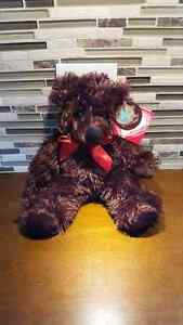 Dark Chocolate Scented Plush Teddy Bear - New